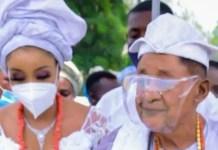 Alaafin of Oyo and new olori Chioma