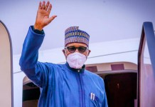 Muhammadu Buhari departs for London on medical trip