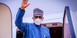 Muhammadu Buhari departs for London on medical trip