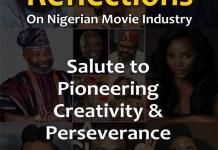 Femi Akintunde-Johnson Reflections on Nigeria Movie Industry Nollywood