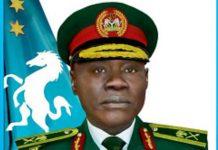 Chief of army staff Farouk Yahaya