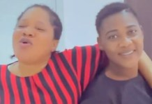 Toyin Abraham and Mercy Johnson