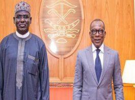 Tukur Buratai and Benin Republic President Patrice Talon