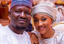 Halima Buhari-Sheriff and husband Babagana Muhammed Sheriff