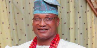 Olu-Imasai of Imasayi Prince Kuoye Olalekan
