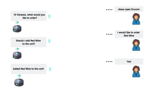 Multi-turn conversation with Alexa