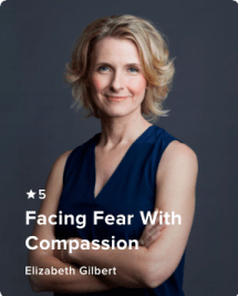 Elizabeth Gilbert on Insight Timer