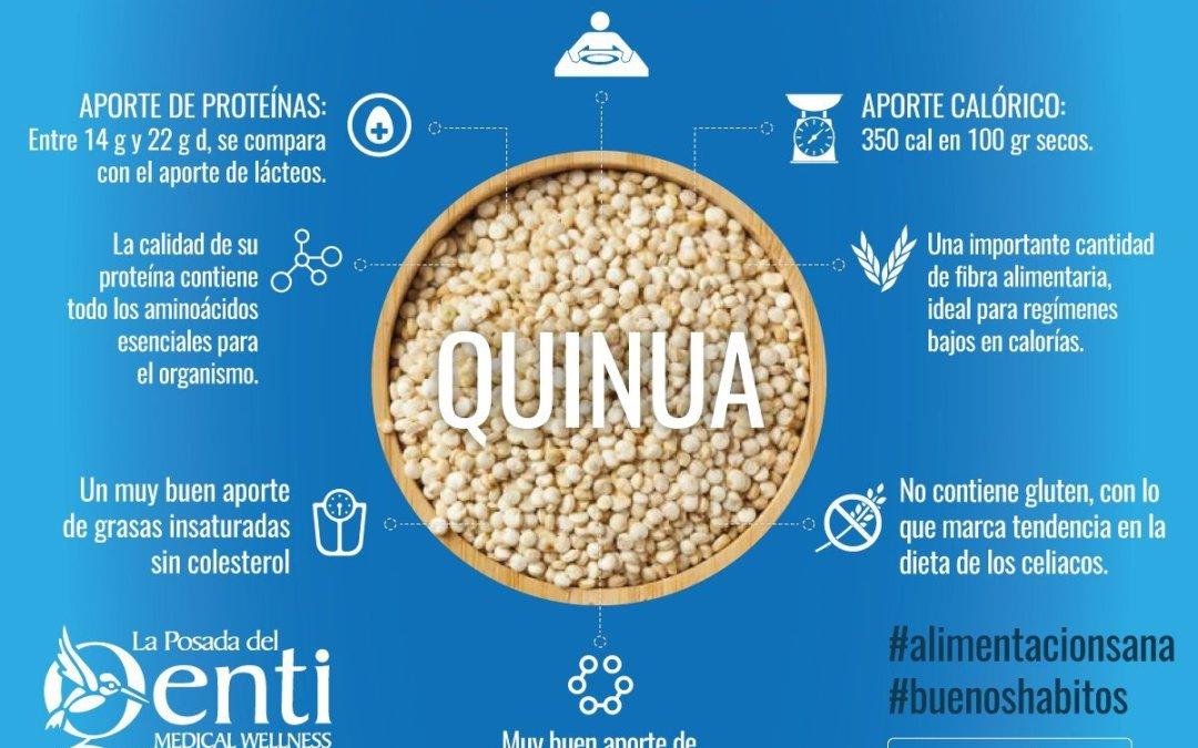 Alimentación saludable: risotto de quinua