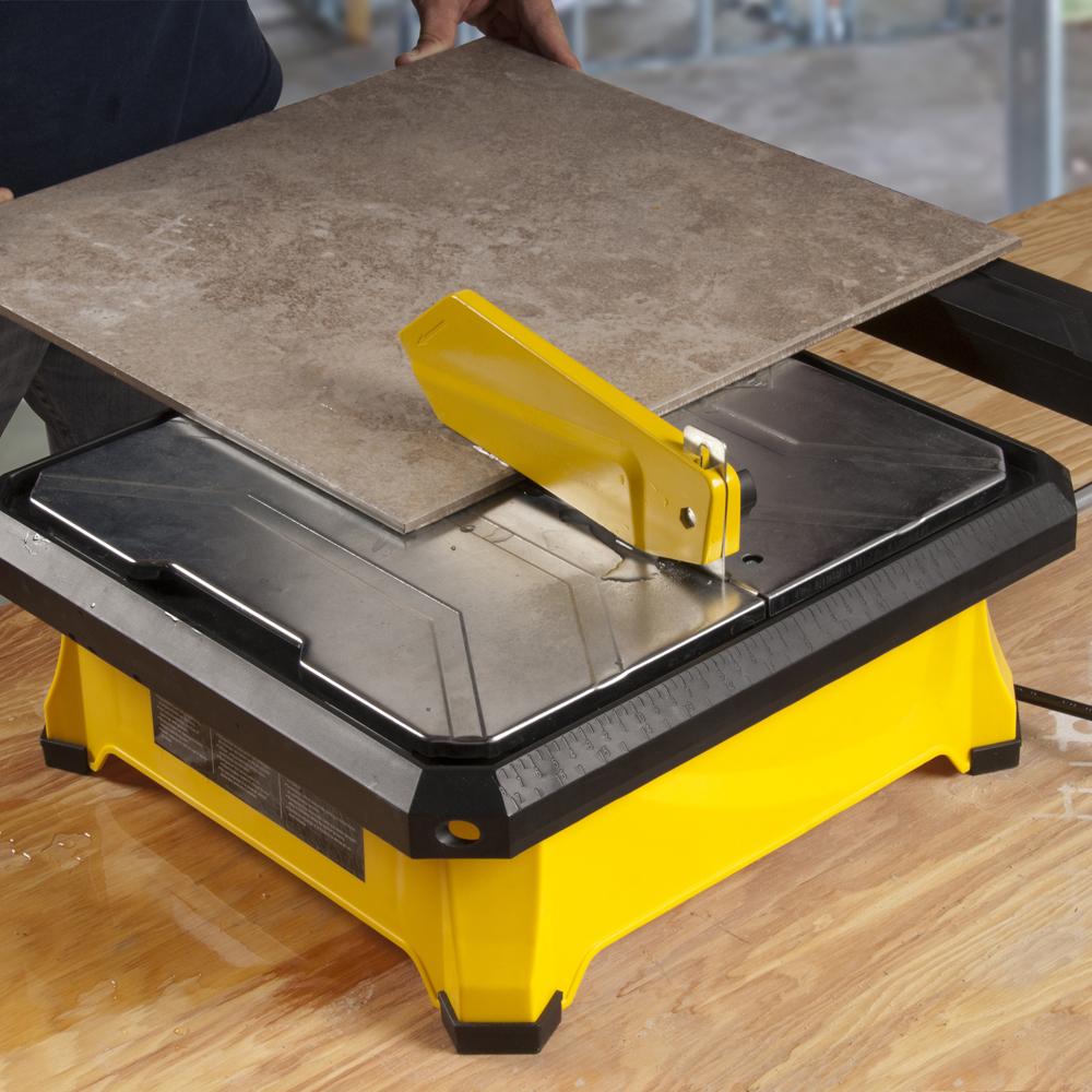 7 180 mm 650xt tile wet saw qep