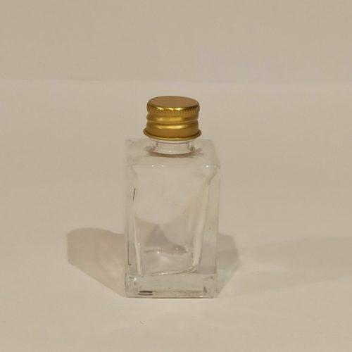 Pote de Vidro Quadrado Ref:4100