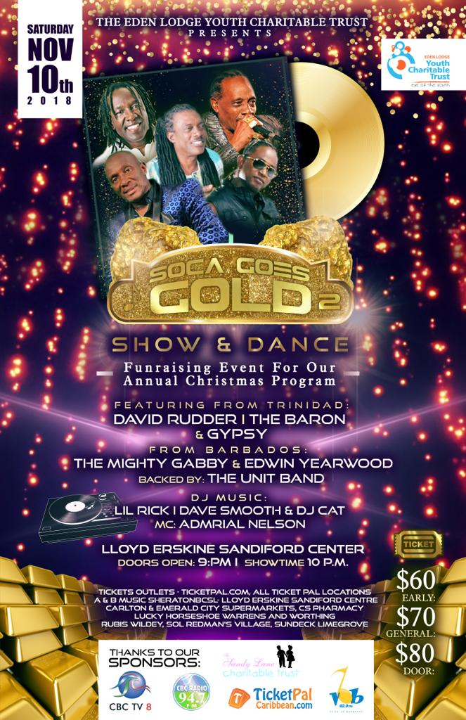 Soca Goes Gold