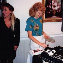 Mom's 50th Bday ... her natural hair color! (1993)