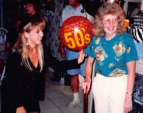 Mom's 50th Bday ... her natural hair color (1993)