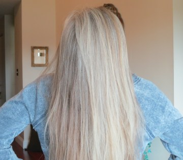 Twenty-five months, no color: Nov 1, 2015; Check out those natural highlights from the top!!