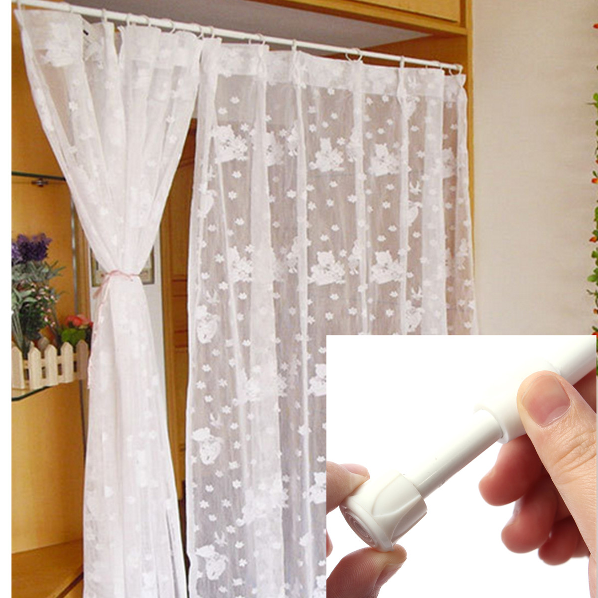 title | Extra Long Shower Curtain Rod