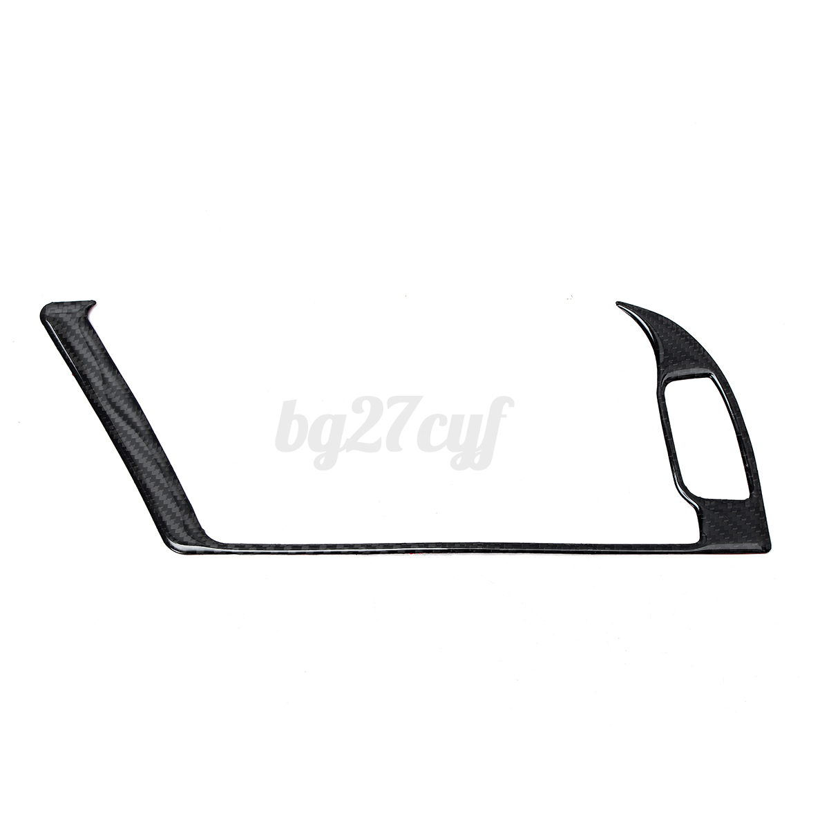Carbon Fiber Console Warning Light Decal Cover Trim For Audi A4 B8 A5