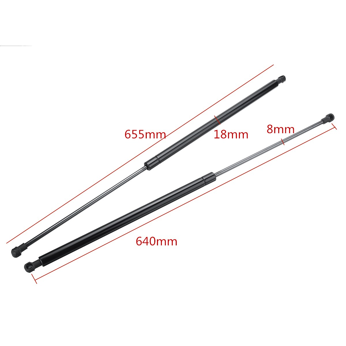 2x Tailgate Boot Gas Struts Support Lifter For Honda Civic