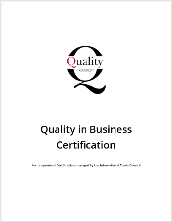 About The Quality in Business Certification