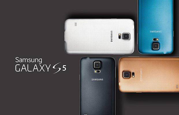 Samsung Galaxy S5 de metal, parte de la Serie F de Samsung