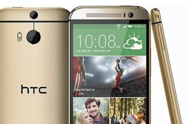 HTC M8 color oro