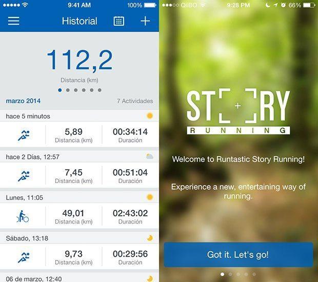 Nueva versión Runtastic 5.0 iPhone y Android