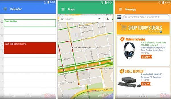 Nuevo diseño de apps — Project Hera