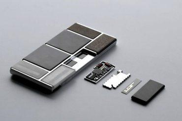 Teléfono Project Ara - prototipo