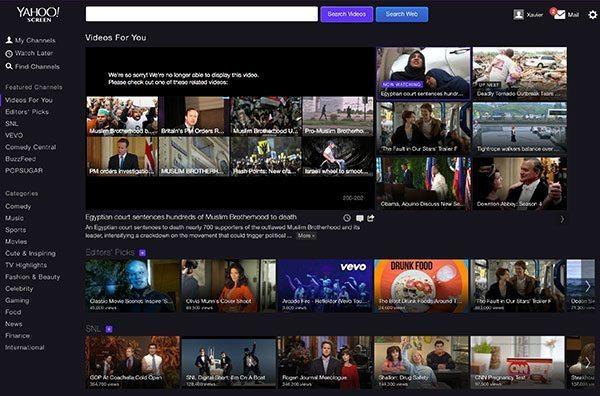 Other Space y Sin City Saints serán parte de la plataforma Yahoo Screen.