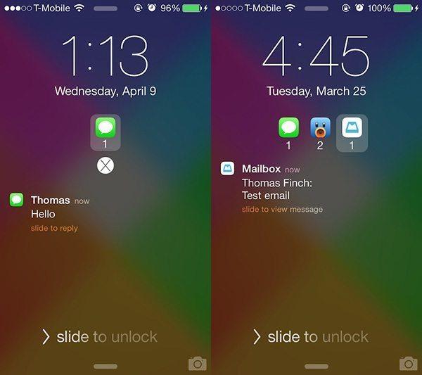 Priority Hub para iOS 7