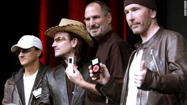 Jimmy Iovine, U2 y Steve Jobs