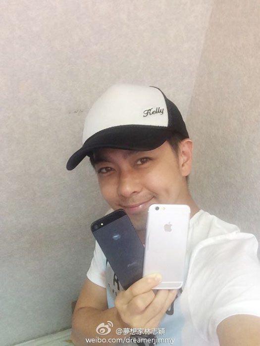Jimmy Lin muestra, alegadamente el nuevo iPhone 6