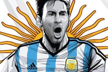 Messi - La Albiceleste