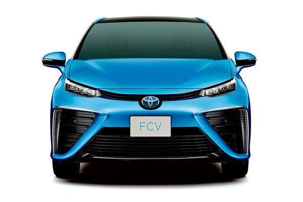 Toyota FCV - Vehículo de hidrógeno