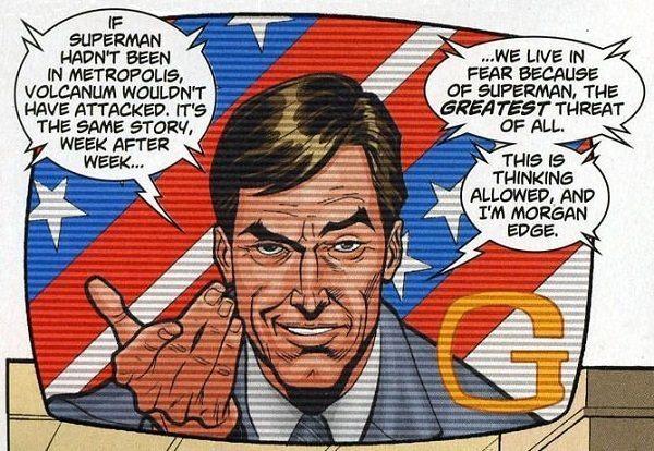 Morgan Edge - Batman v Superman: Dawn of Justice