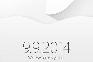 Invitación Apple evento iPhone 6