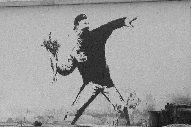 Riot Banksy