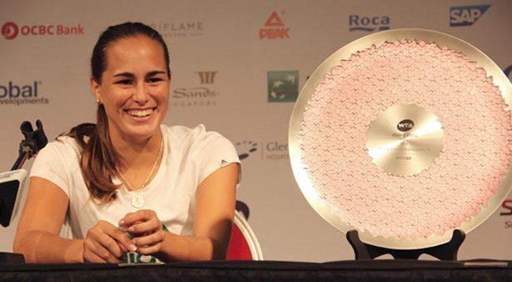 Monica Puig Singapur Rising Stars Invitational