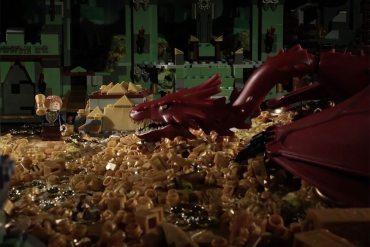 The Hobbit 72 segundos versión LEGO