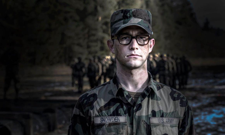 Joseph Gordon-Levitt como Edward Snowden - Biopic