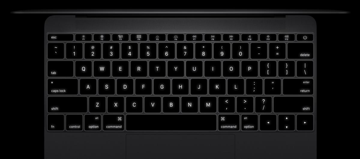 """Teclado Nueva Apple MacBook 12"""""""