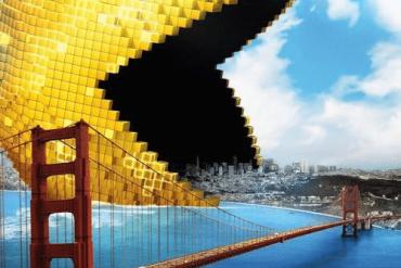 Película Pixels con Adam Sandler