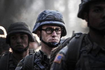 Película Snowden con Joseph Gordon-Levitt