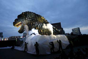 Estatua Godzilla Tokio