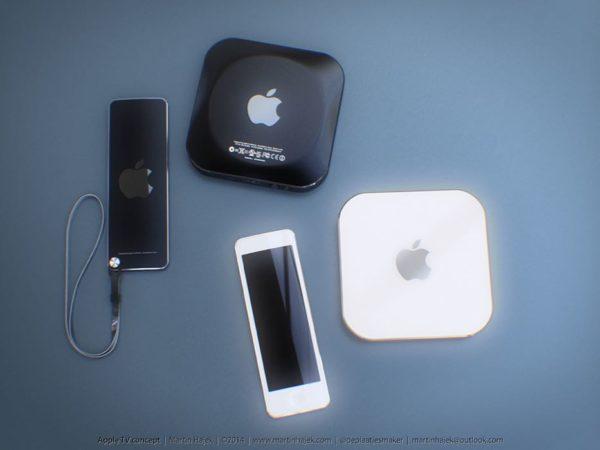 Concepto nuevo Apple TV por Martin Hajek