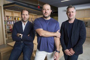 Alan Dye, Jony Ive y Richard Howard