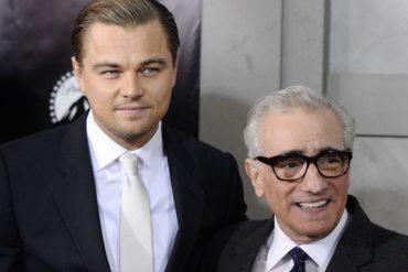 Martin Scorsese y Leonardo Dicaprio en Devil in the White City