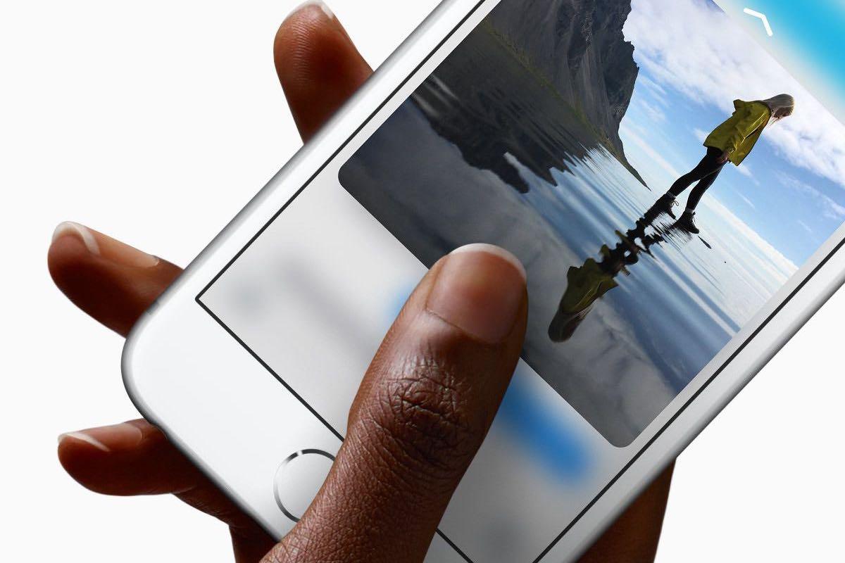 3D Touch en el iPhone 6s y iPhone 6s Plus