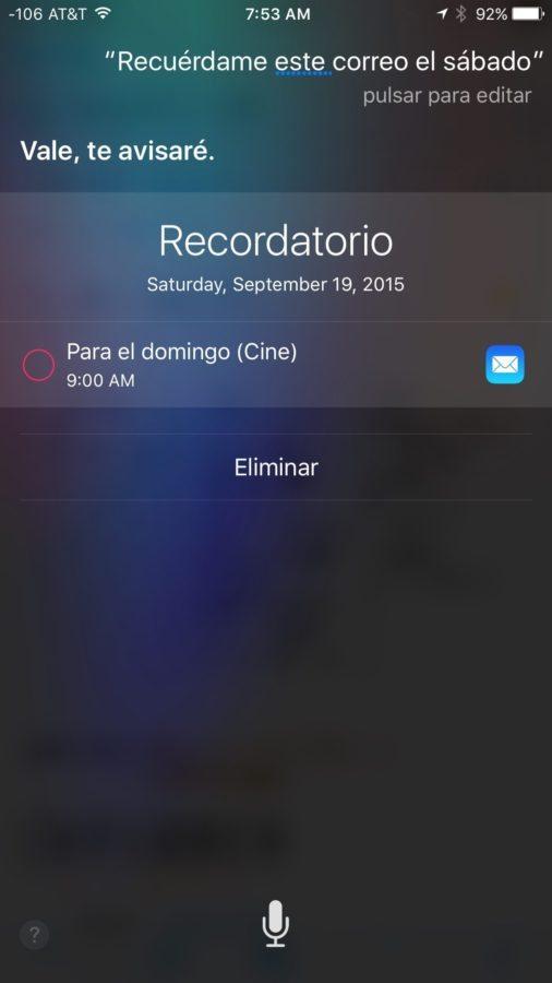 iOS 9 — Siri