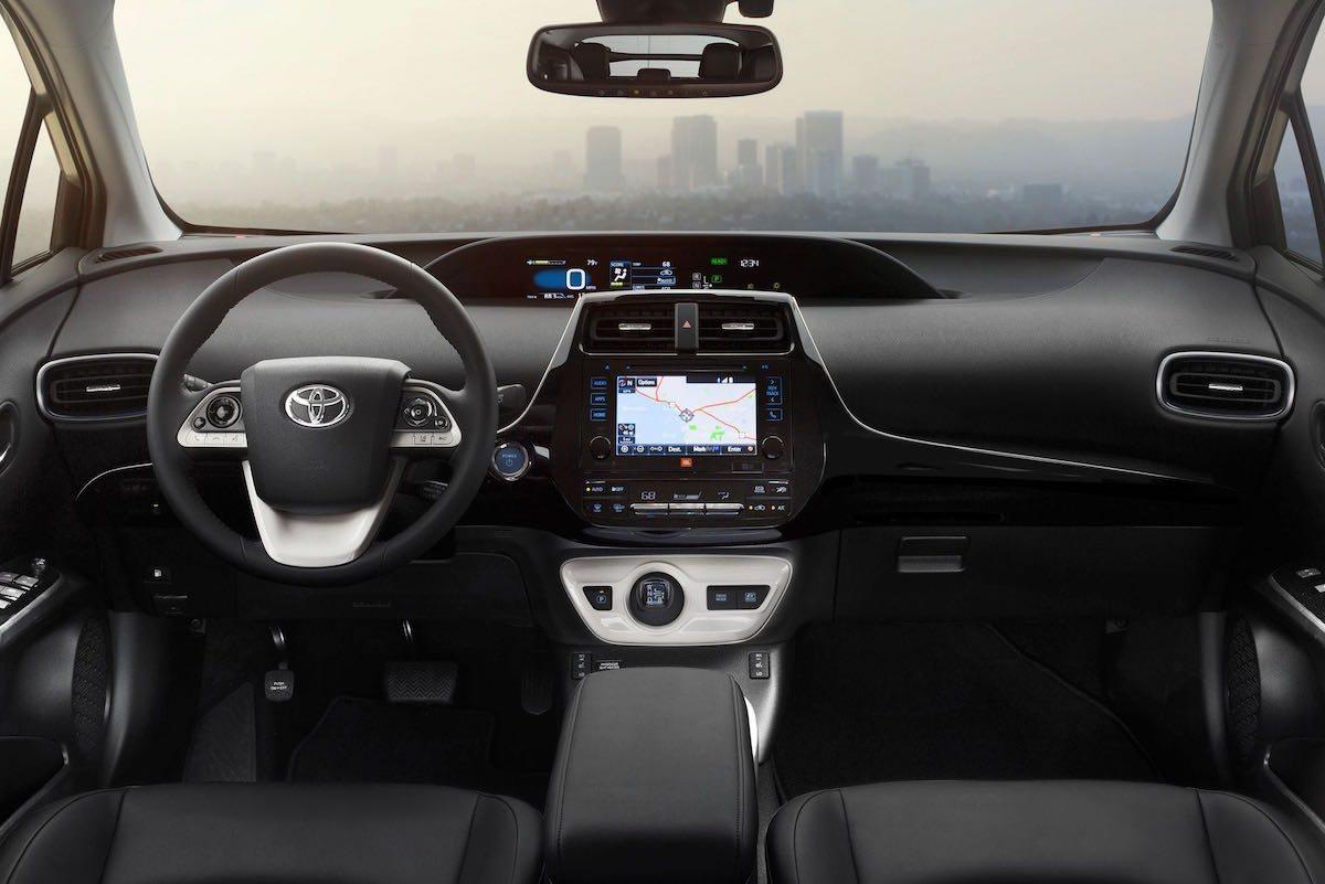 Toyota Prius 2016 interior