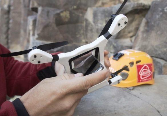 PhoneDrone Ethos convierte tu iPhone o Android en un drone